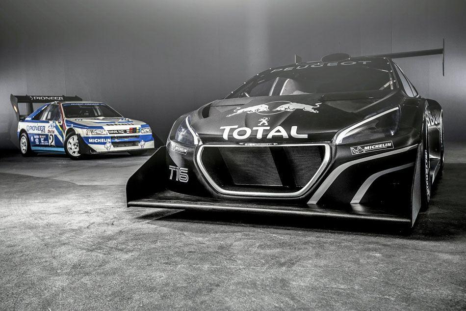Peugeot revient à Pikes Peak avec sebastien Loeb