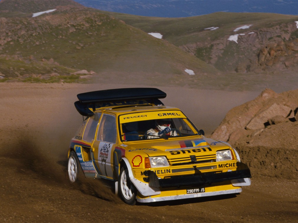 ari vatanen peugeot 205 t16 pikes peak 1987 sur essais et actualit automobile. Black Bedroom Furniture Sets. Home Design Ideas