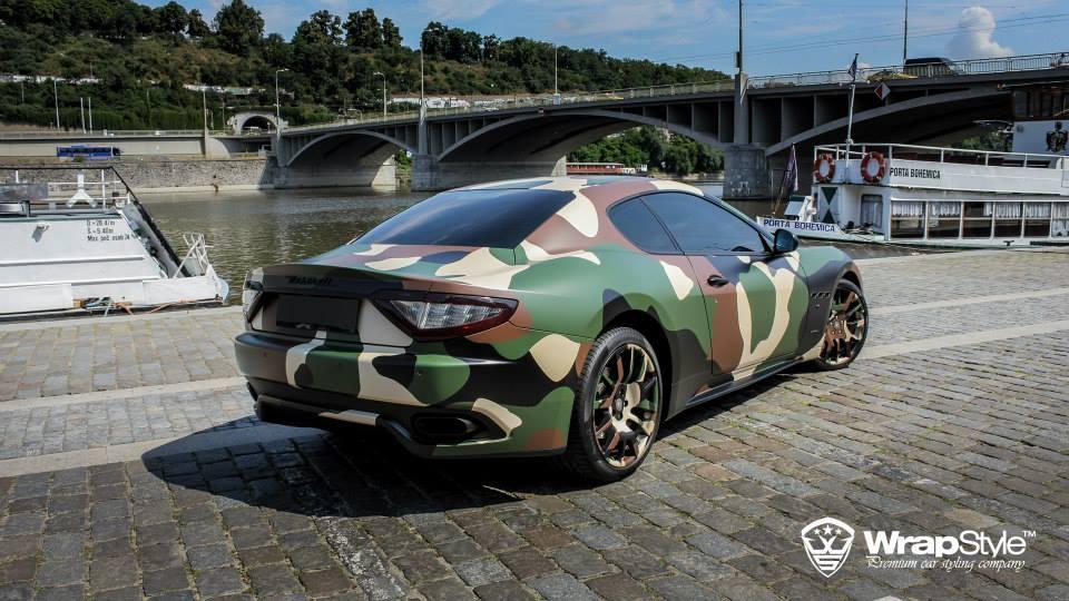 Maserati Gran Turismo S par WrapStyle