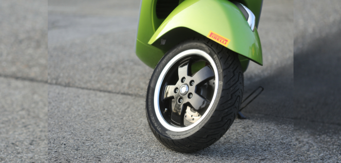 Essai du Pirelli Angel scooter