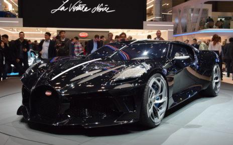 Bugatti présente « La Voiture Noire », l'automobile neuve la plus chère du monde