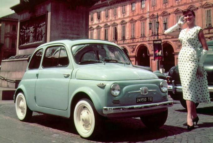 La fiat 500, l'icône italienne