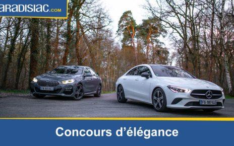 Comparatif - BMW Série 2 Gran Coupé VS Mercedes CLA : concours d'élégance