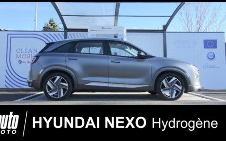 Le SUV à Hydrogène qui purifie l'air Hyundai NEXO essai POV Auto-Moto.com
