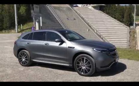 Le Mercedes EQC 100 % électrique - présentation