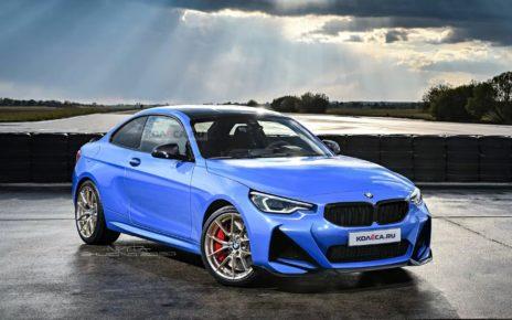 Kolesa imagine la future BMW Série 2 Coupé 2021