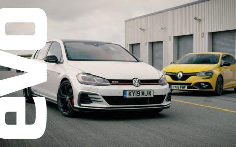 Volkswagen Golf GTI TCR vs Renault Megane RS Trophy | evo DEADLY RIVALS