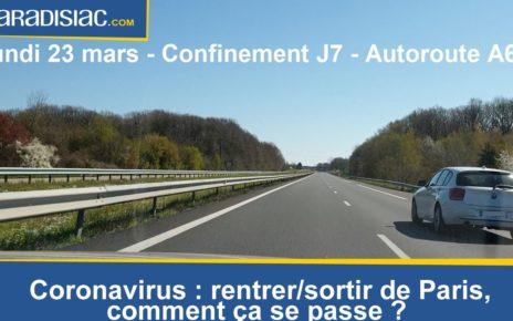Coronavirus : rentrer/sortir de Paris, comment ça se passe ?