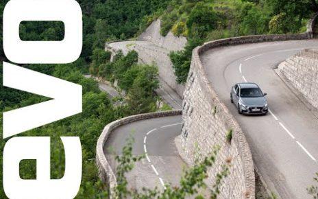 Hyundai i30 Fastback N on the Col de Turini
