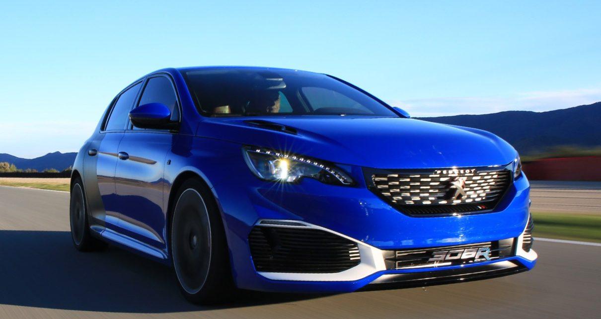 La Future Peugeot 308 GTi en hybride rechargeable ?