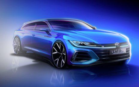 1ère photo officielle de la Volkswagen Arteon Shooting Brake