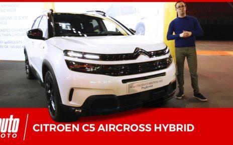 Citroën C5 Aircross Hybrid : la techno rechargeable la plus abordable chez PSA