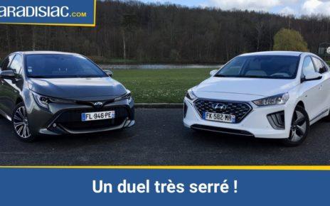 Toyota Corolla 122h vs Hyundai Ioniq : quelle est la meilleure compacte hybride du marché ?