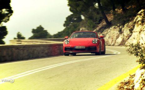 Essai de la Porsche 911 Cabriolet - Extrait Emission TURBO du 07/04/2019