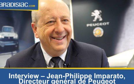 """Interview - Jean-Philippe Imparato (Peugeot): """"Tesla et Porsche? Même pas peur!"""""""