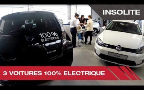 3 voitures 100% electrique - Mondial Auto de Paris 2014