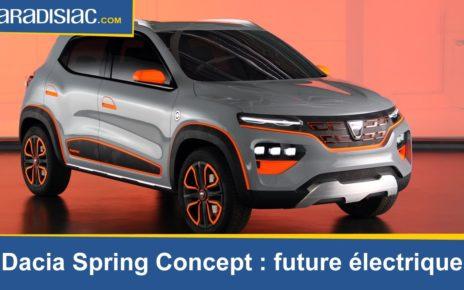 Présentation - Dacia Spring Concept : future électrique