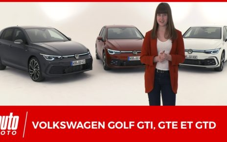 Volkswagen Golf GTI, GTE et GTD : toutes les infos officielles