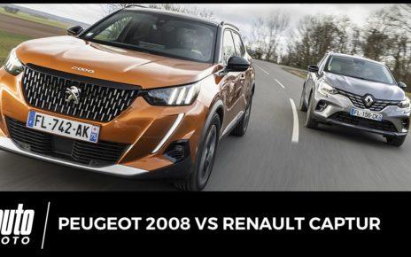Peugeot 2008 vs Renault Captur : duel en diesel