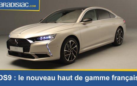 Présentation DS9 : la nouvelle berline française haut de gamme