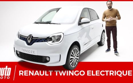 Renault Twingo Z.E. : une petite soeur plus abordable pour la Zoe.
