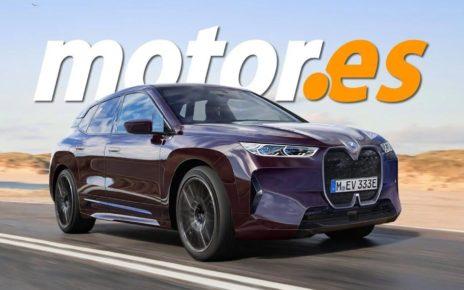 Premières images du futur SUV électrique BMW iX