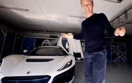 NICO ROSBERG PRESENTE SA NOUVELLE RIMAC C_TWO EN VIDEO