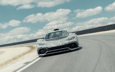 La Mercedes-AMG One poursuit encore son développement
