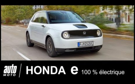 Honda e 2020 électrique Essai POV Auto-Moto.com