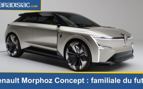 Renault Morphoz Concept : familiale du futur