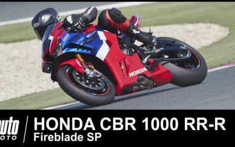 2020 Honda CBR 1000RR-R Fireblade 217 ch 1er Essai POV Auto-Moto.com