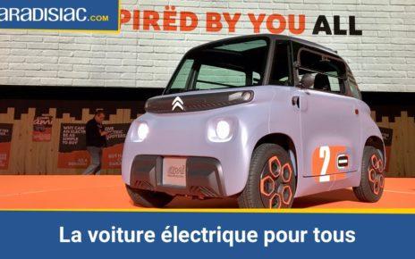 Citroën Ami (2020) : l'anti-Renault Twizy à 19,99 € par mois