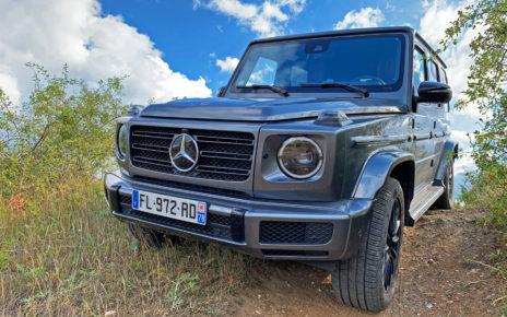 Essai Mercedes Classe G500, gloutonnerie et sensations assurées