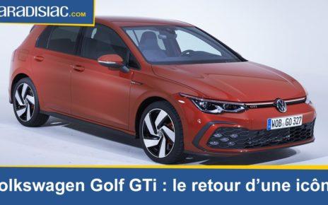 Présentation - Volkswagen Golf GTi : le retour d'une icône