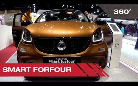 360° Smart forfour - Mondial Auto de Paris 2014