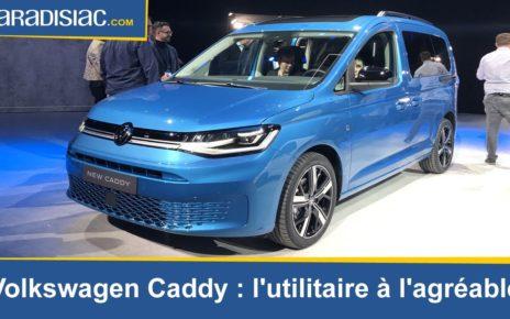 Présentation - Volkswagen Caddy 5 : l'utilitaire à l'agréable
