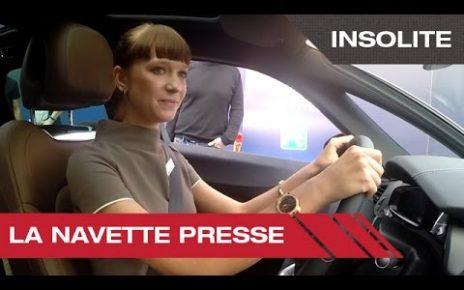 La navette presse - Mondial Auto de Paris 2014