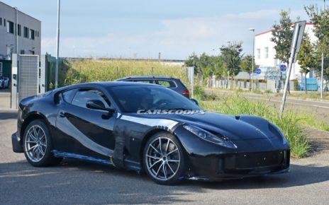 La Ferrari 812 « GTO » surprise à nouveau