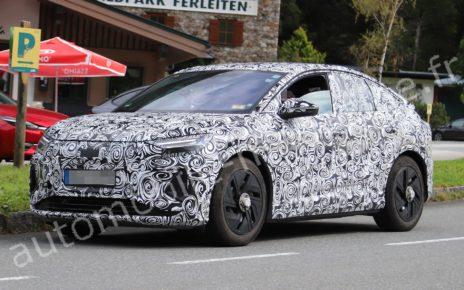 Nouvelles photos des futurs Audi Q4 e-tron et Q4 e-tron Sportback
