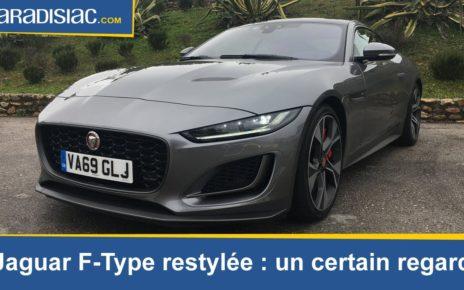Essai - Jaguar F-Type restylée: un certain regard