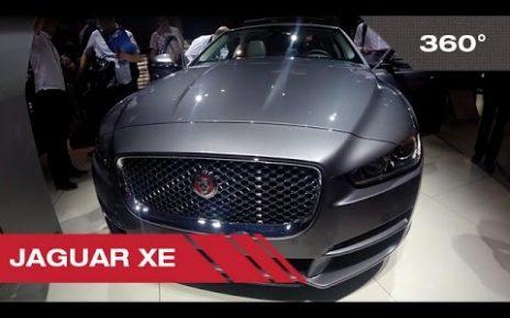 360° Jaguar XE - Mondial Auto de Paris 2014