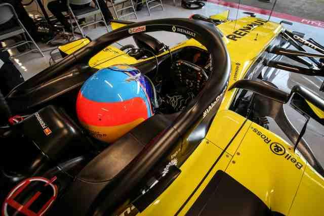 Renault : Fernando Alonso a repris le volant d'une F1 - F1 - Renault