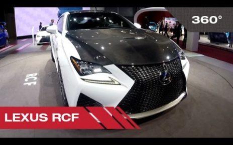 360° Lexus RCF - Mondial Auto de Paris 2014