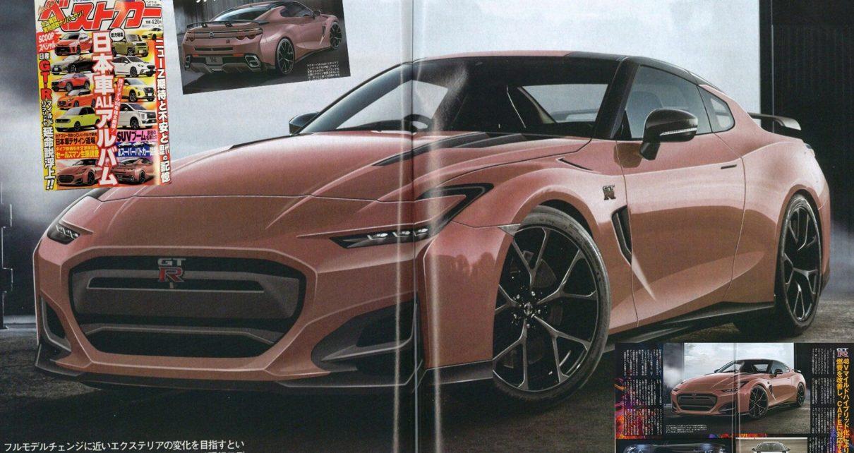 Future Nissan GT-R : premières infos et images