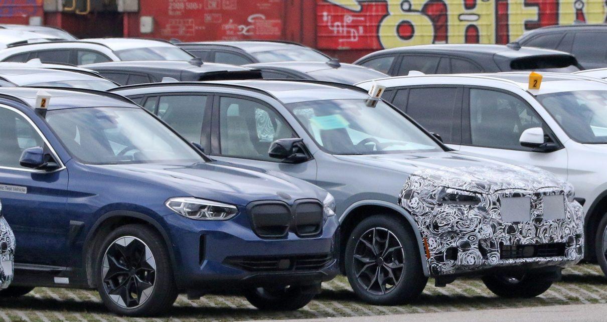 Le prochain BMW X3 restylé surpris avec du camouflage