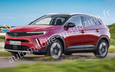 Notre première image de l'Opel Grandland 2021 restylé