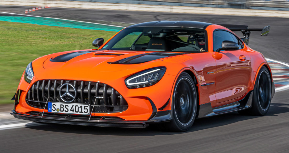 Voici comment accélère la nouvelle Mercedes-AMG GT Black Series (vidéo)