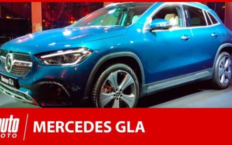 Mercedes GLA (2020) : plus SUV que jamais