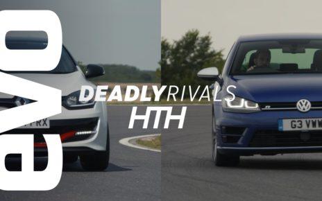 Renaultsport Mégane 275 Trophy-R v VW Golf R | evo DEADLY RIVALS head to head