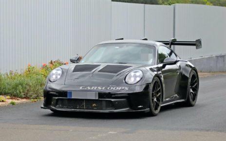 Future Porsche 911 GT3 RS : un kit carrosserie impressionnant
